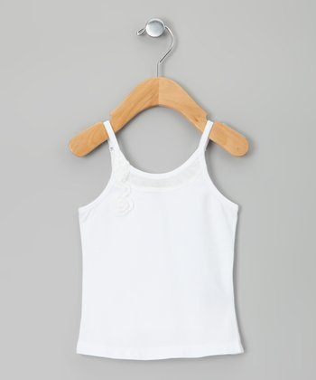 White Topelle Camisole - Toddler & Girls