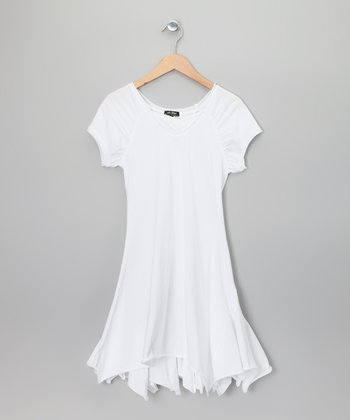 White Vermus Dress - Girls