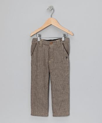 Beige Bourvil Pants - Toddler & Boys