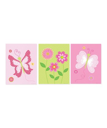 Butterfly Print - Set of Three