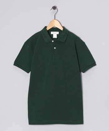 Green Hunter Polo - Boys