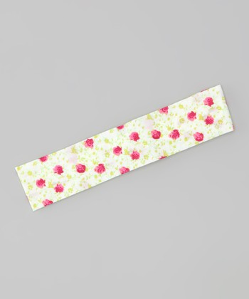 Red Daisy Soft Headband