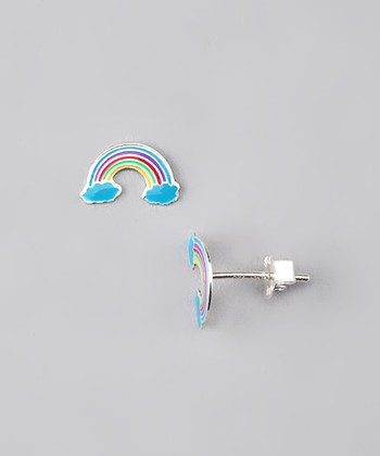 Cloud Rainbow Earrings