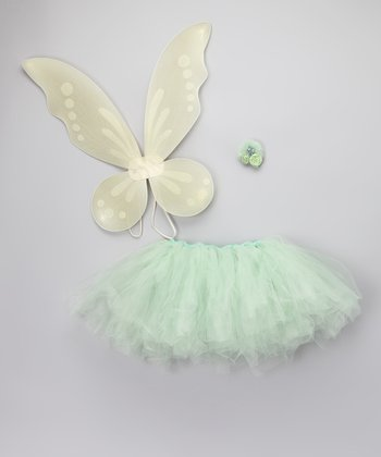 Mint Marzipan Tutu Set - Girls