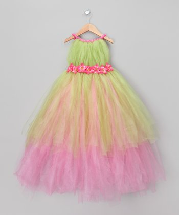 Pink Tink Fairy Dress - Toddler & Girls