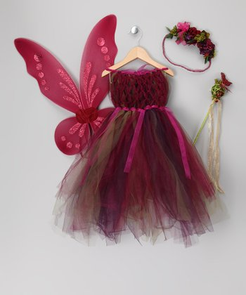 Purple Fairy Dress Set - Todder & Girls