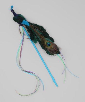 Blue Peacock Wand
