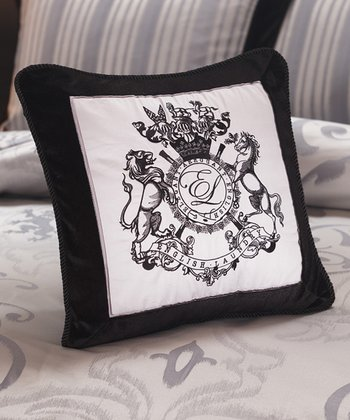 Black & White Bury Decorative Pillow