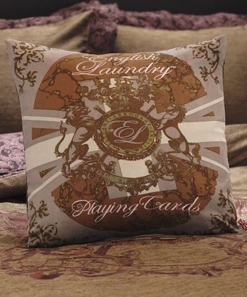 'Playing Cards' Decorative Pillow
