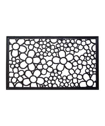 Daisy Recycled Rubber Doormat
