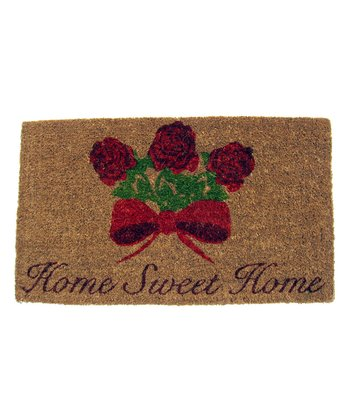 'Home Sweet Home' Handwoven Doormat