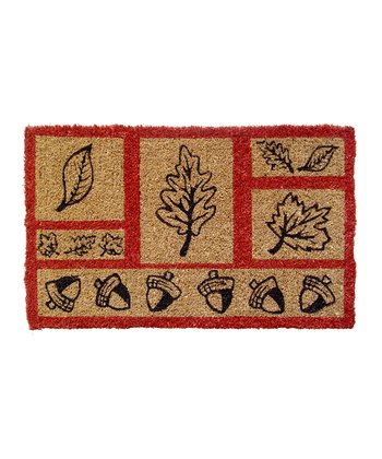 Entryways Acorns & Leaves Doormat