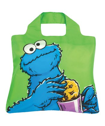 Green Cookie Monster Bag