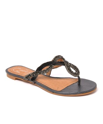 Envy Black Chicklit Sandal