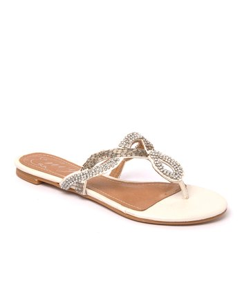 Envy White Chicklit Sandal