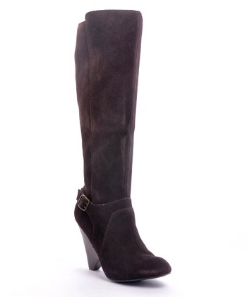 Brown Suede Corrie Boot