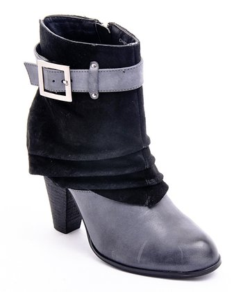 Black Suede DaBomb Boot