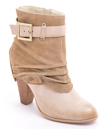 Natural Suede DaBomb Boot