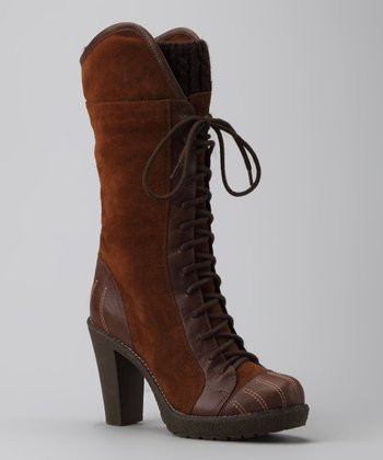 Brown Delish Boot