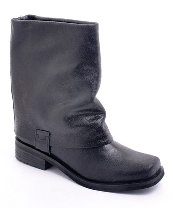 Black Fun Police Boot