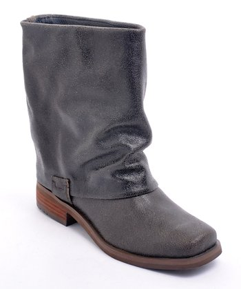 Brown Fun Police Boot