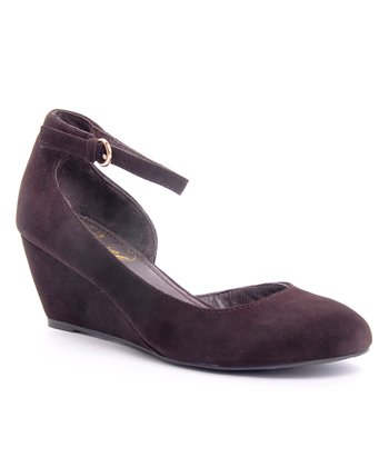 Envy Brown Iris Wedge