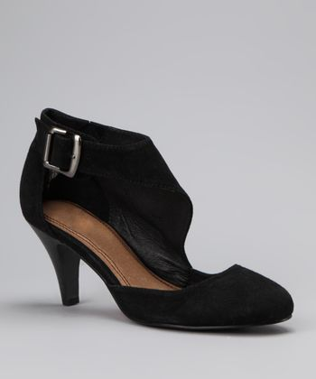 Black Suede Offstage Pump