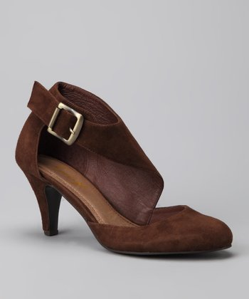 Brown Suede Offstage Pump