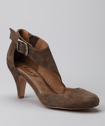 Taupe Offstage Pump