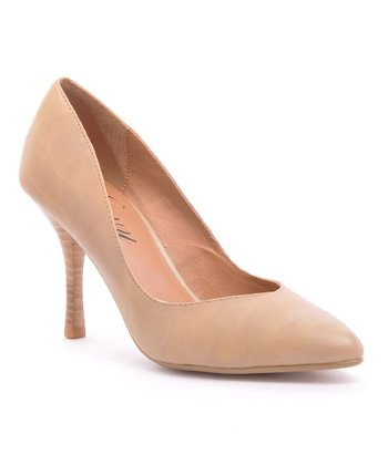 Beige Ringtone Pump
