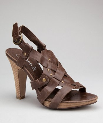 Brown Tip-Toe Sandal