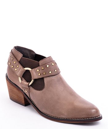 Brown Yeehaw Ankle Boot