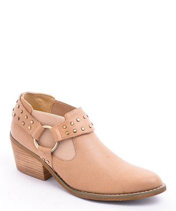 Natural Yeehaw Ankle Boot