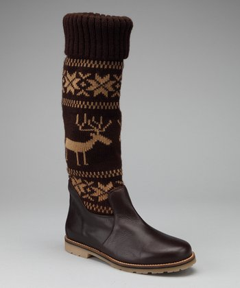 Brown Reindeer Boot