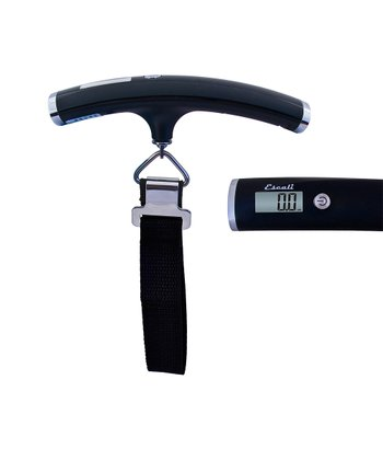 Black Velo 110-Lb. Luggage Scale