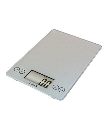 Shiny Silver Arti 15-Lb. Digital Kitchen Scale