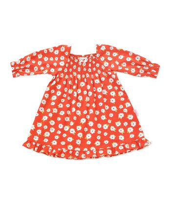 Red Daisy Dream Dress - Infant & Toddler