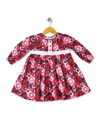 Red Lillie Babydoll Dress - Infant, Toddler & Girls