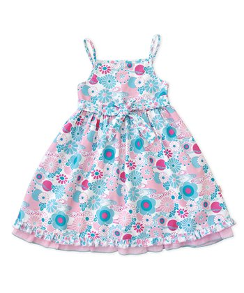 Pink Fairy Garden Dress - Infant & Toddler