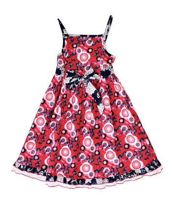 Red Lille Dress - Infant & Toddler