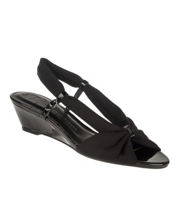 Black Olinda Wedge