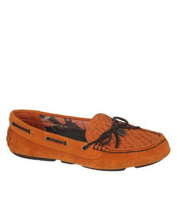 Orange Cimi Loafer