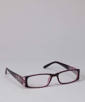 Etienne Aigner Purple Tilly Readers