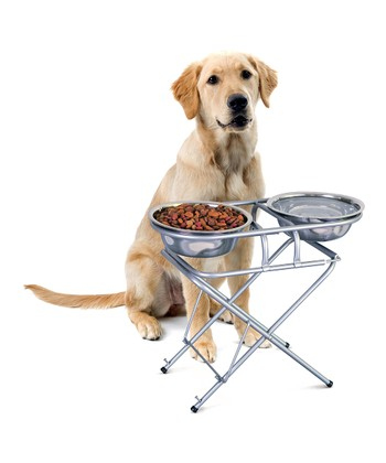 Three-Stage Adjustable Pet Feeder