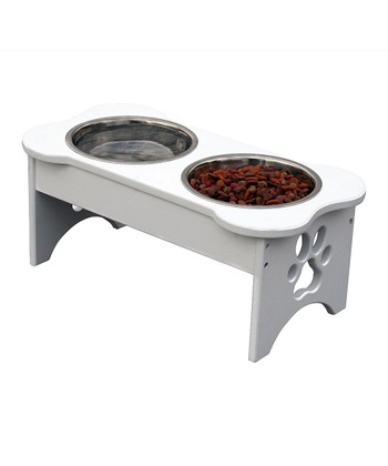 Dog Bone Pet Feeder