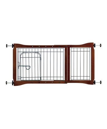 Adjustable Tension-Mount Gate with Door