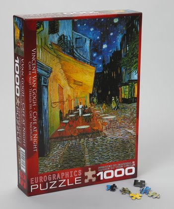 Van Gogh Café at Night Puzzle