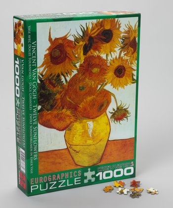 Van Gogh Sunflower Puzzle