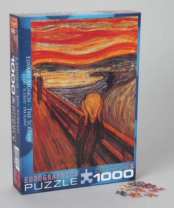 Edward Munch The Scream Puzzle