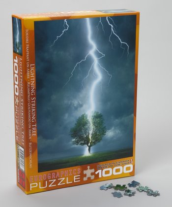 Lightning Striking Tree Puzzle